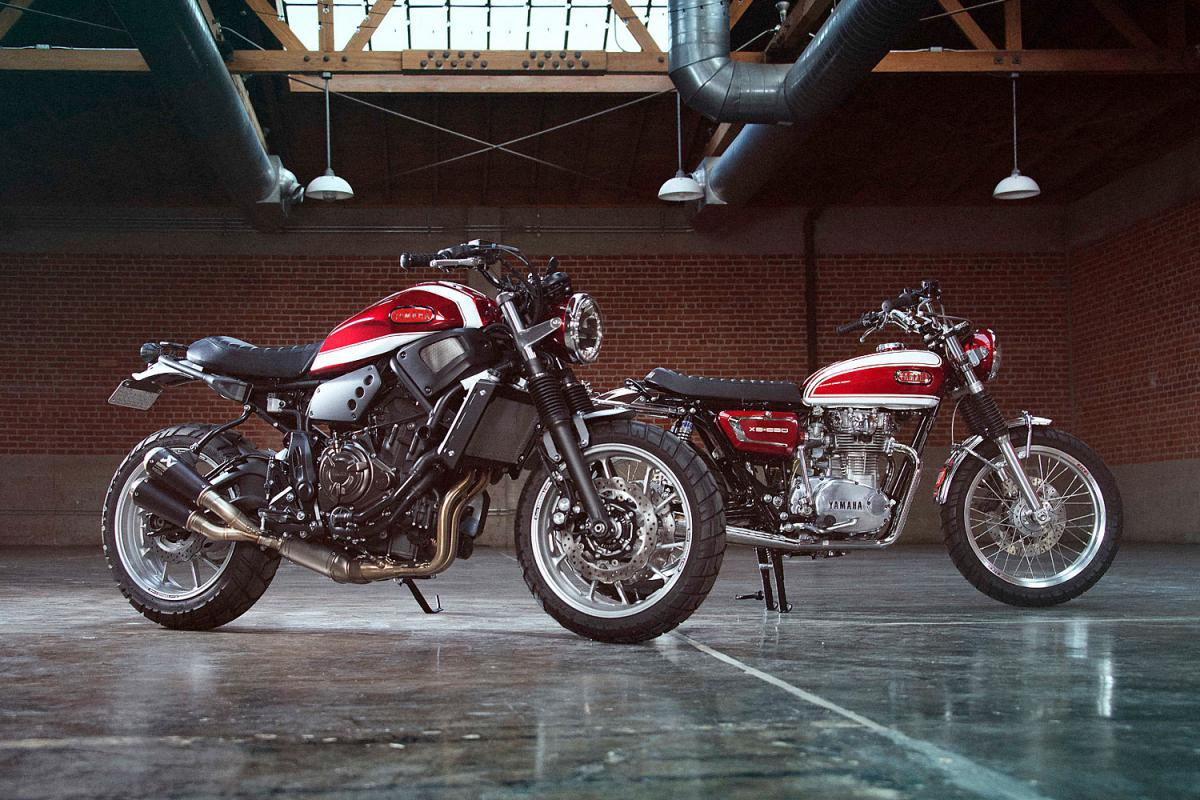 Yamaha Unveiled a Dual Retro-Inspired Project with XS650 and XSR700 #1