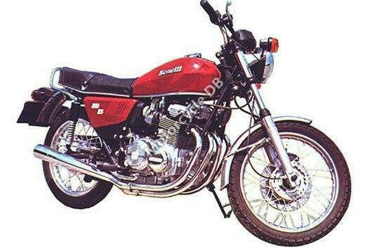 1980 Benelli 350 RS #4