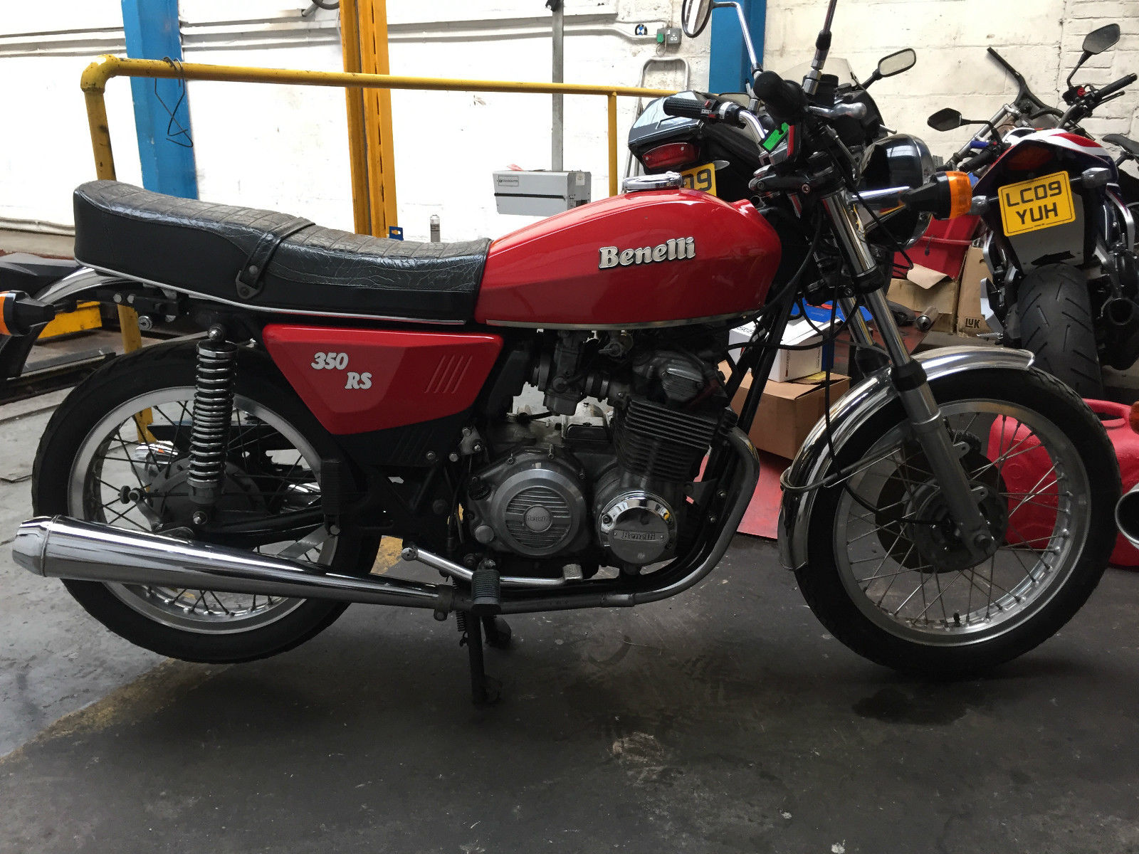 1980 Benelli 350 RS #5