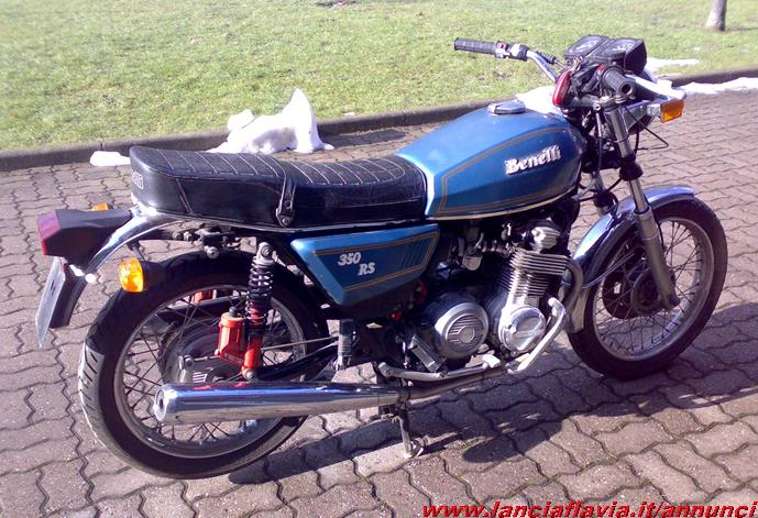 Benelli 350 RS #5