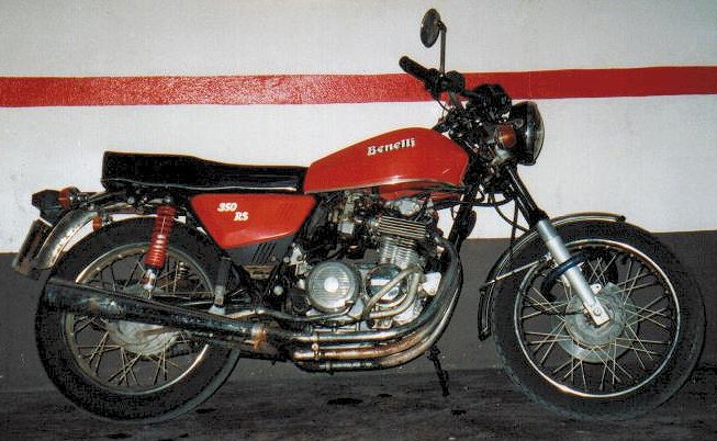 Benelli 350 RS #4