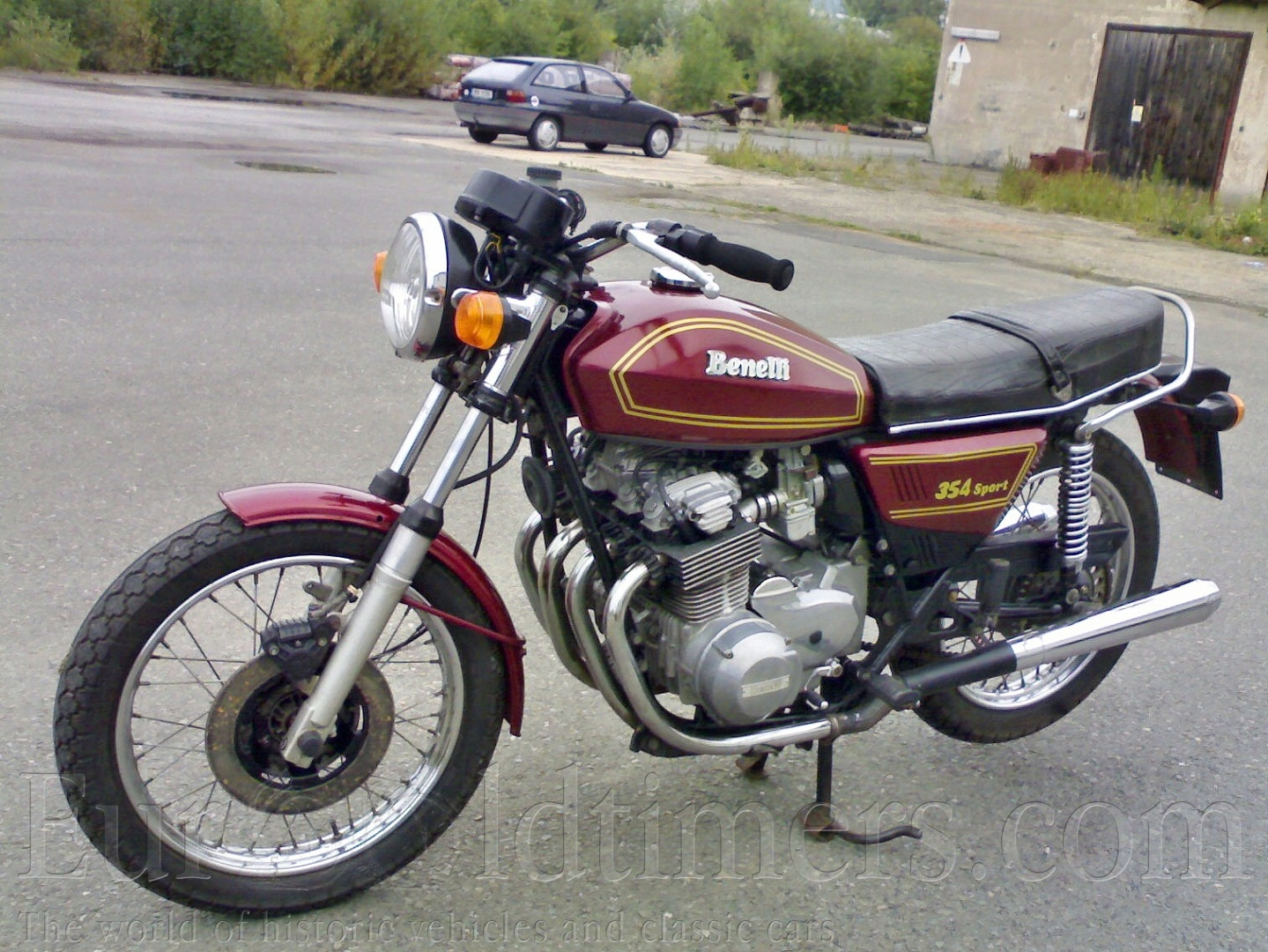 Benelli 350 RS #2