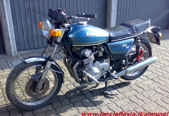 Benelli 350 RS #8