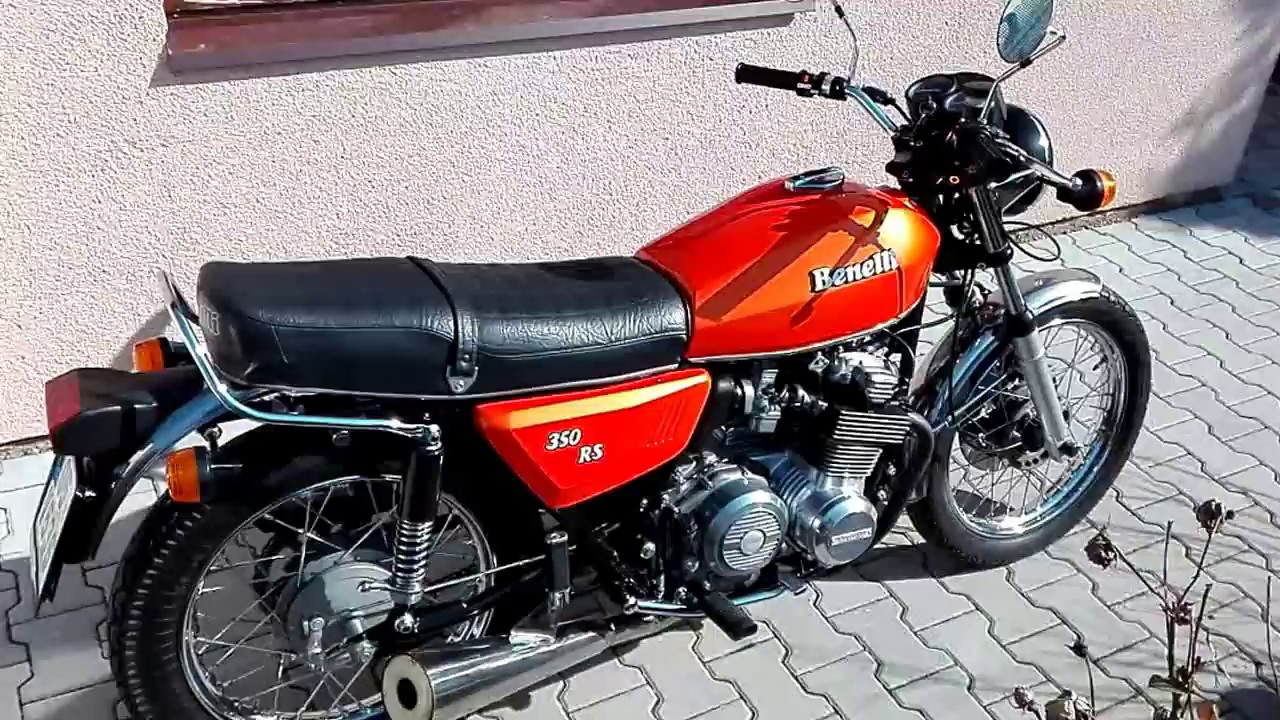 Benelli 350 RS #6