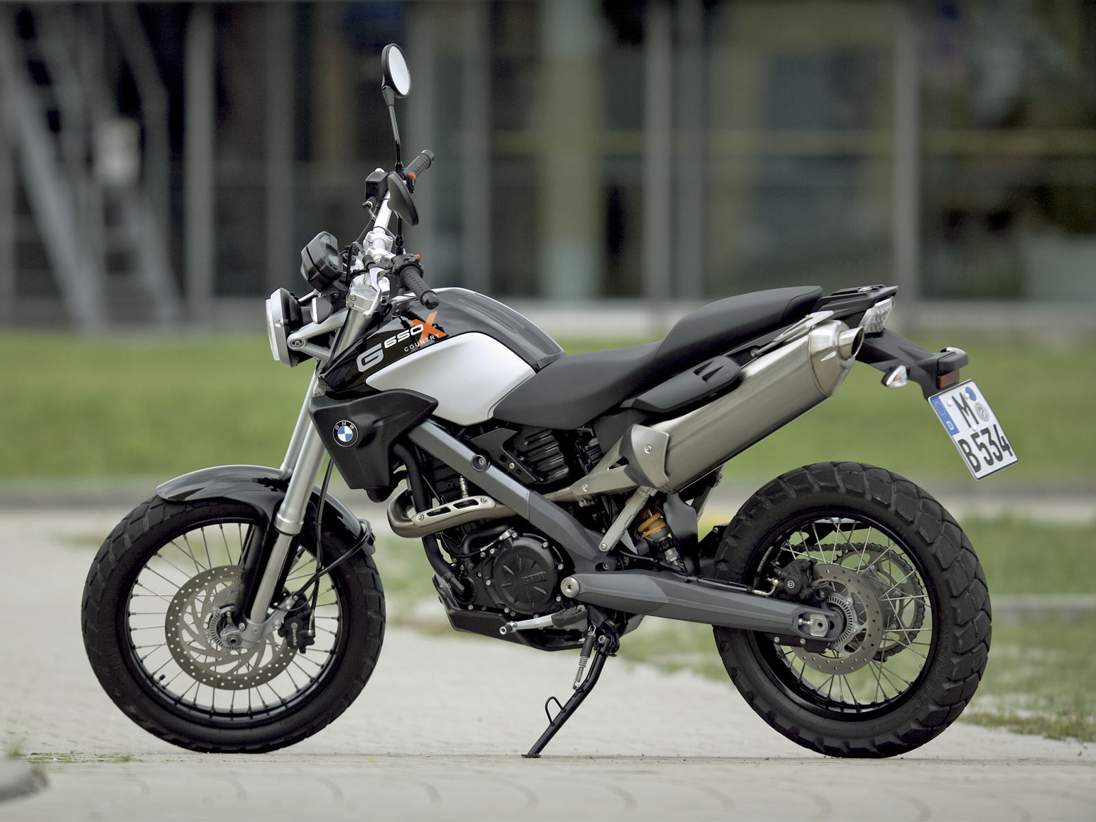 2007 BMW G650X Country #10