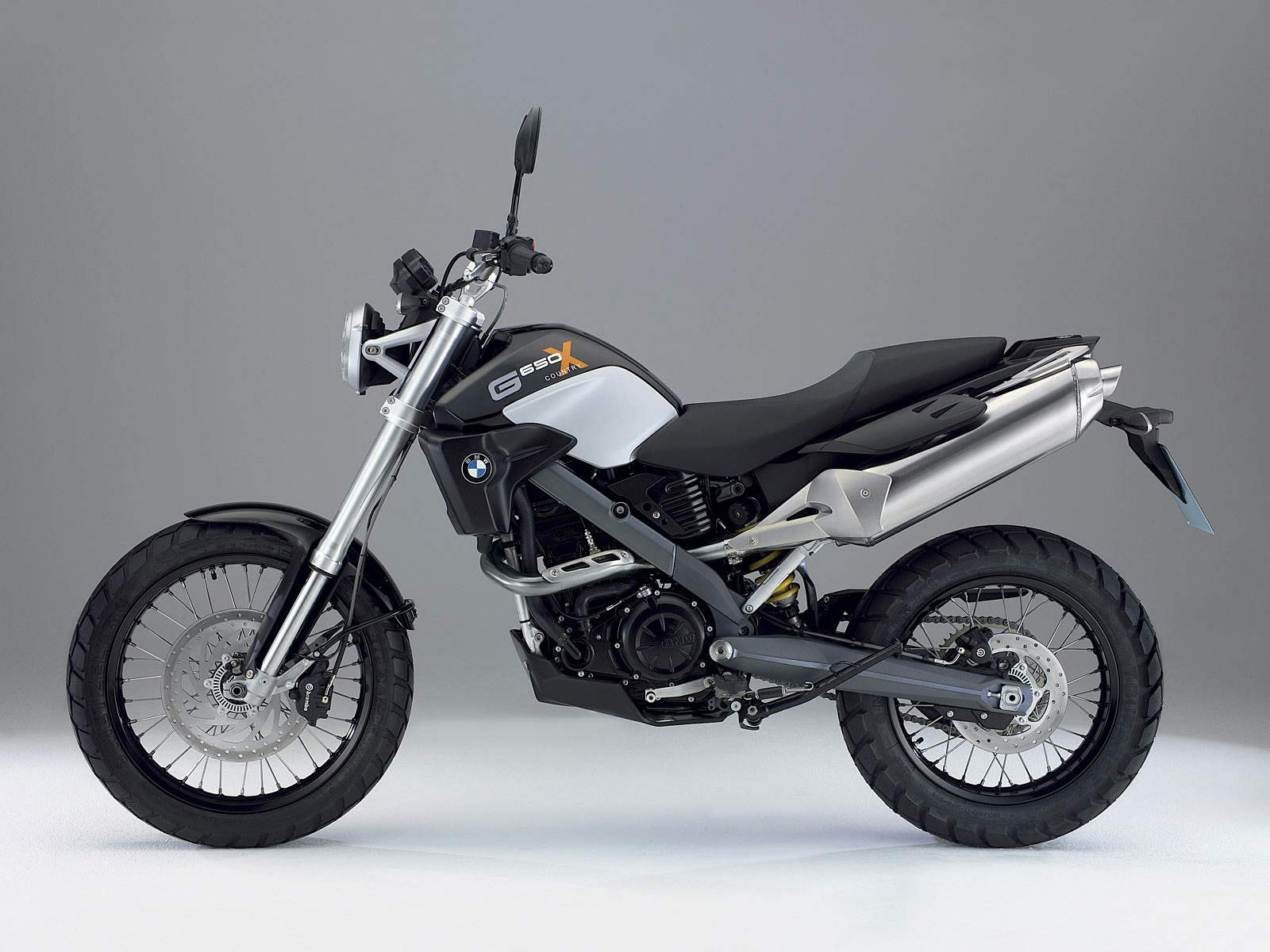 2007 BMW G650X Country #8