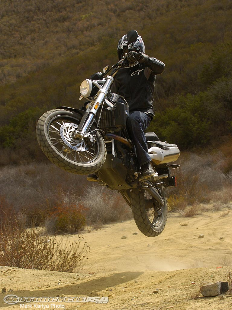 2007 BMW G650X Country #9