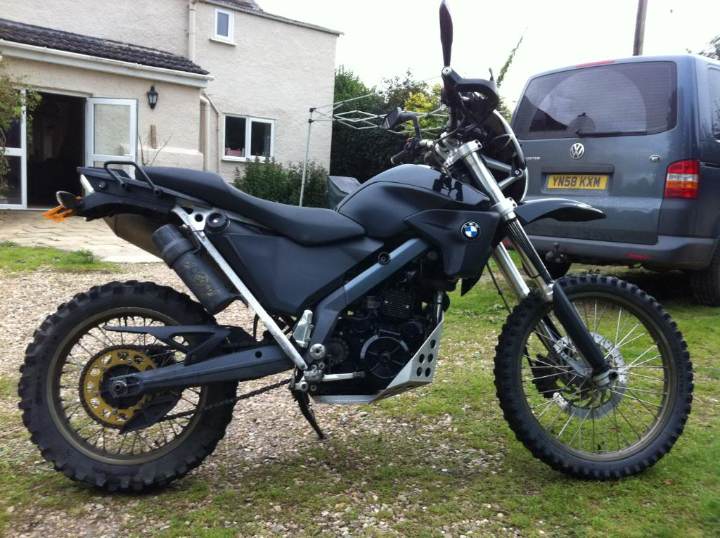 2007 BMW G650X Country #7