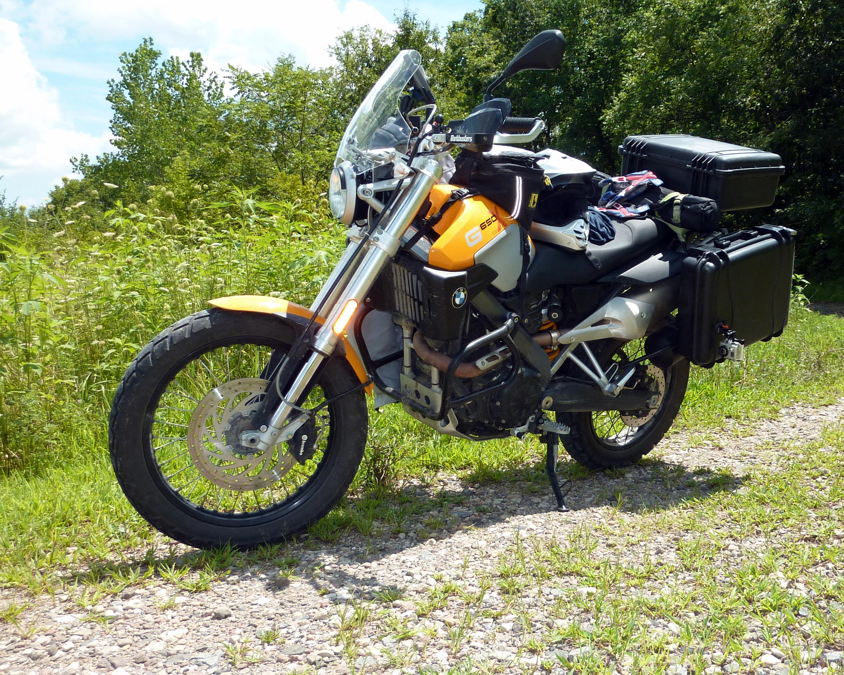 2009 BMW G650X Country #4