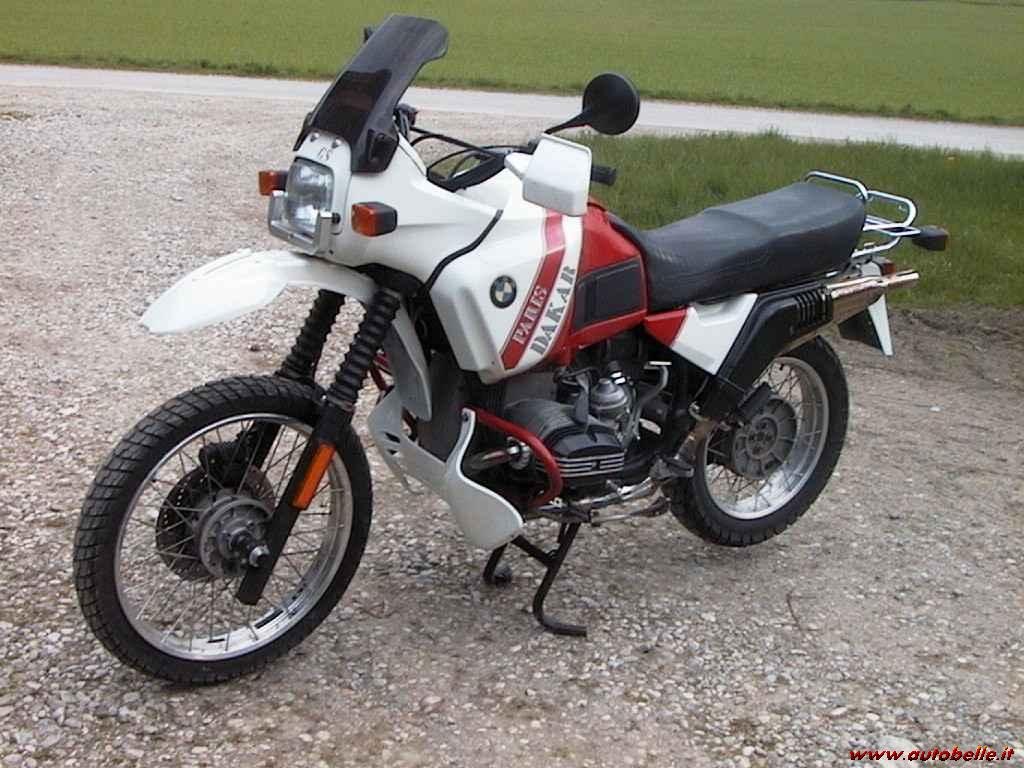 1989 BMW R100GS Paris-Dakar #1