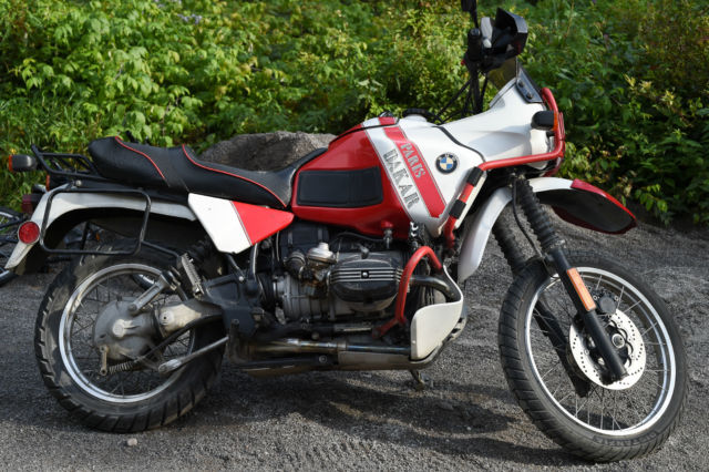 1989 BMW R100GS Paris-Dakar #3