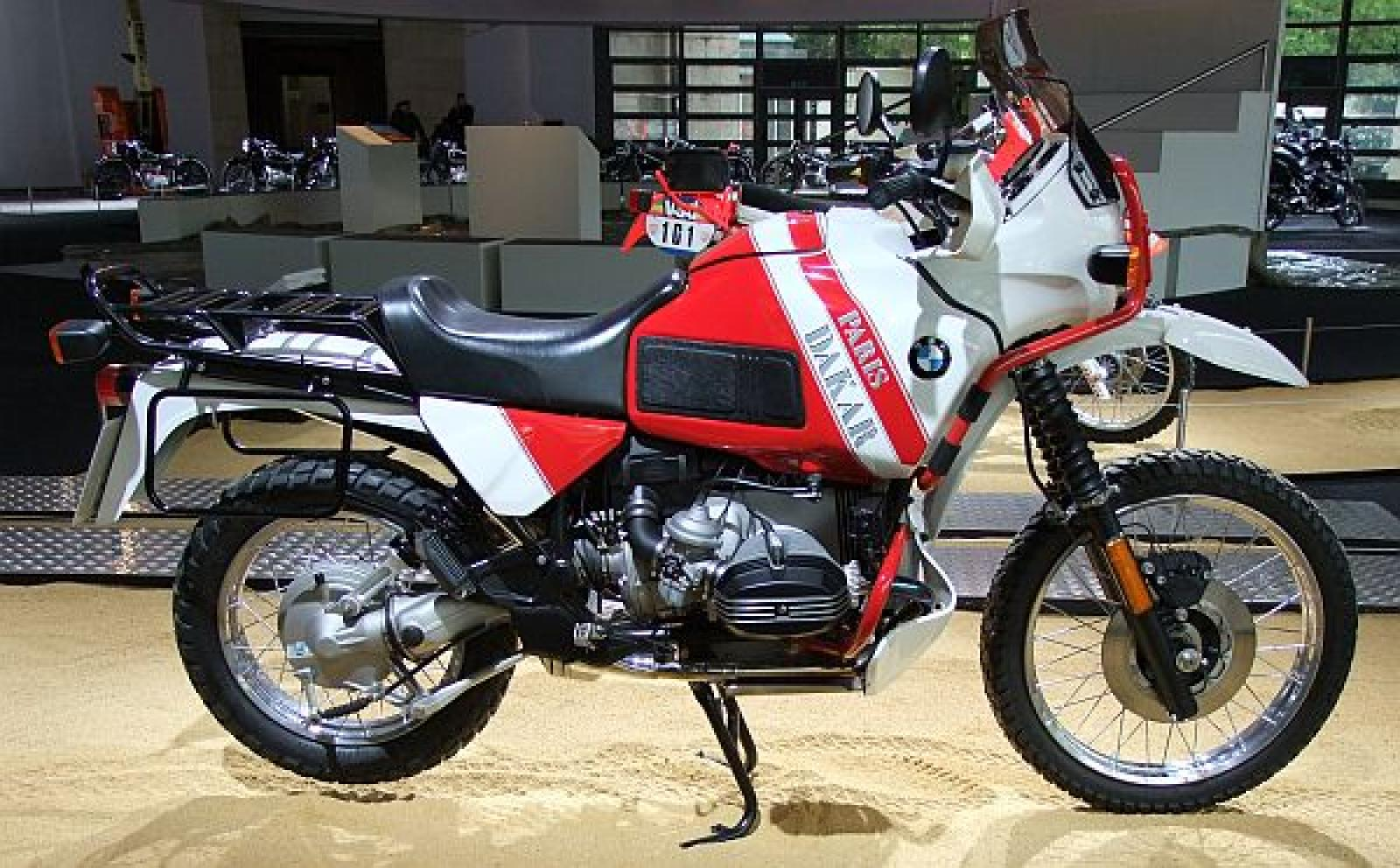 1994 BMW R100GS Paris-Dakar #8