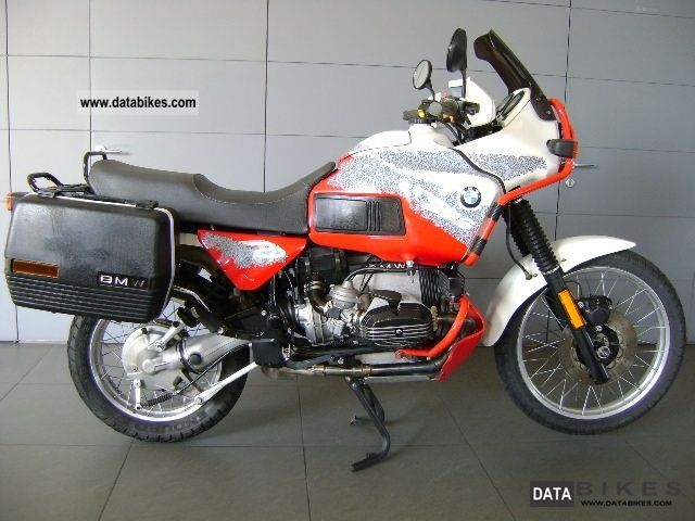 1994 BMW R100GS Paris-Dakar #5