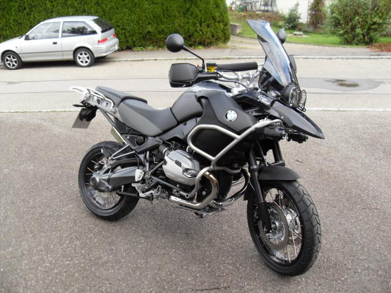 2012 BMW R1200GS Adventure Triple Black #3