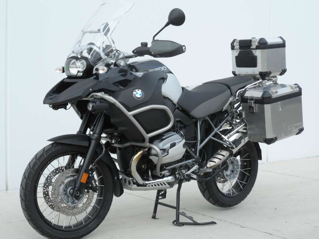 2012 BMW R1200GS Adventure Triple Black #1