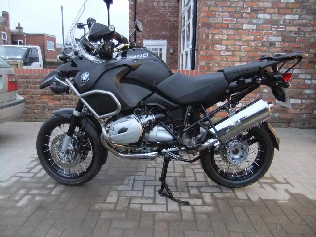 2012 BMW R1200GS Adventure Triple Black #8