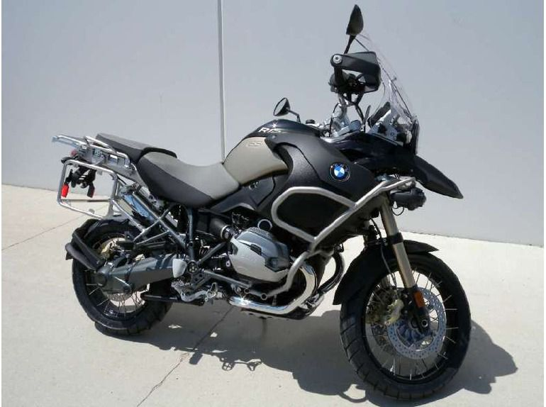 2012 BMW R1200GS Adventure Triple Black #5