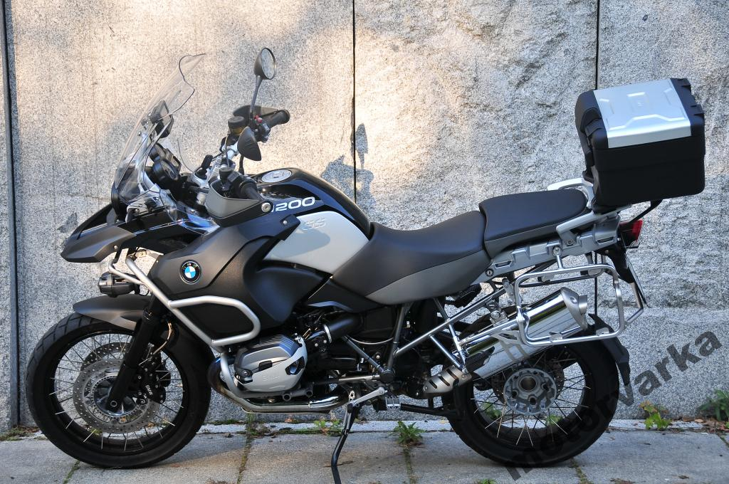 2012 BMW R1200GS Adventure Triple Black #2