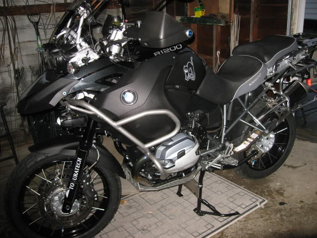 2012 BMW R1200GS Adventure Triple Black #6