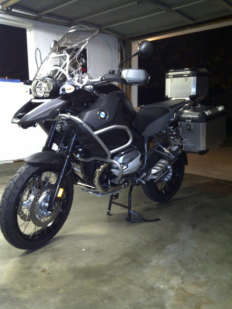 2012 BMW R1200GS Adventure Triple Black #9
