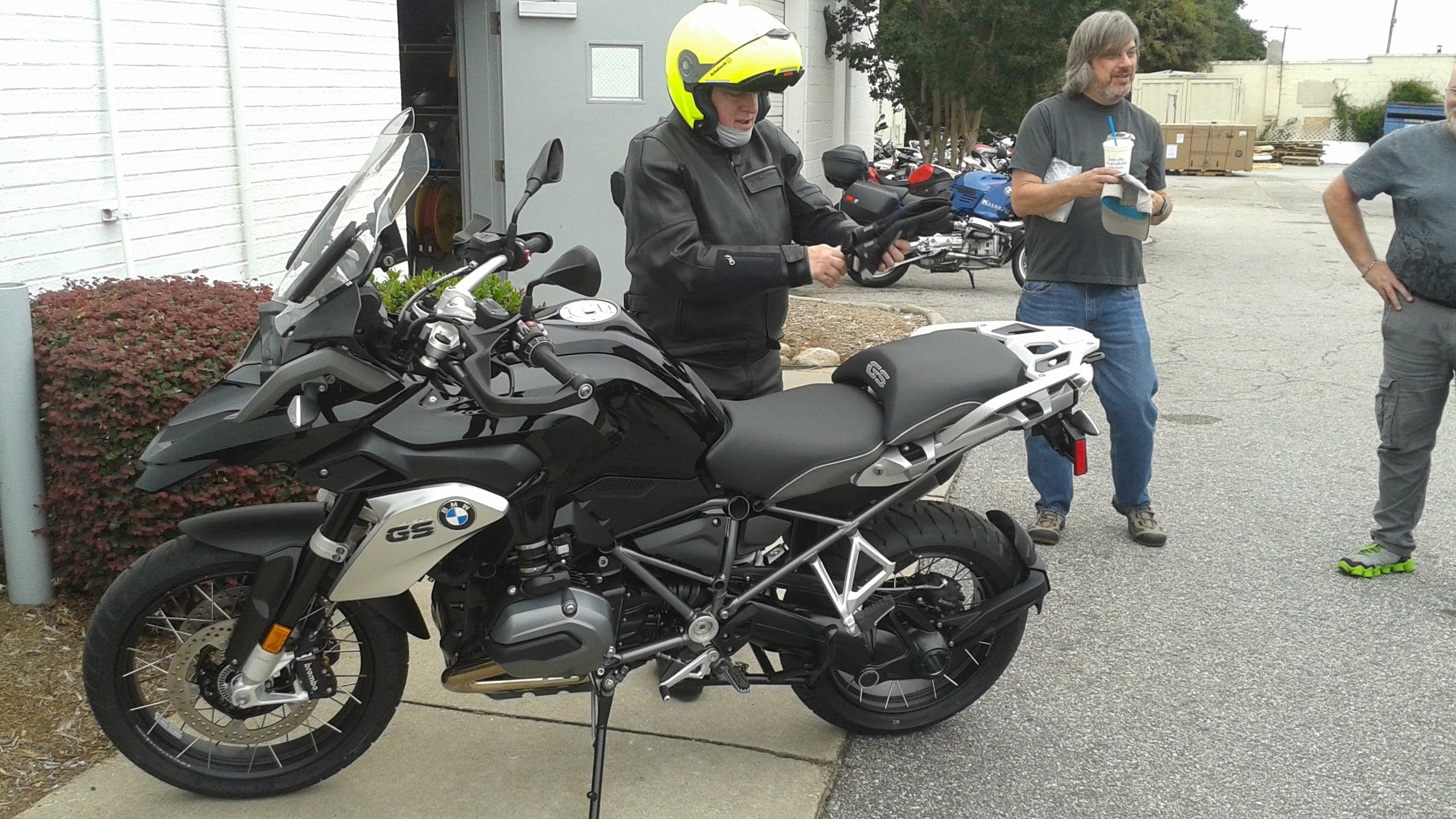 BMW R1200GS Triple Black #9