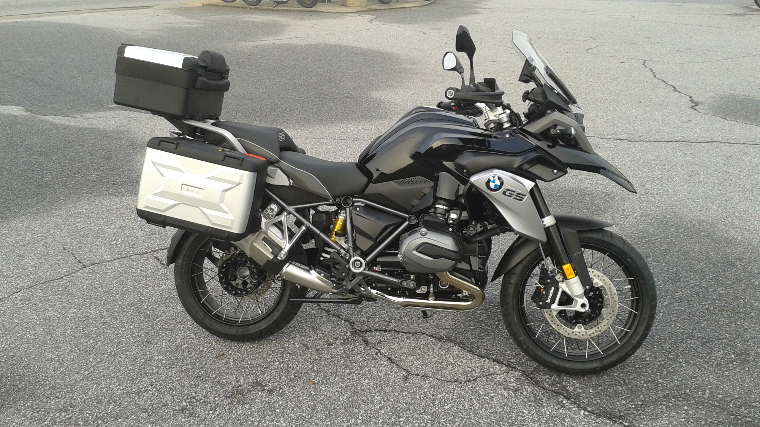 BMW R1200GS Triple Black #3