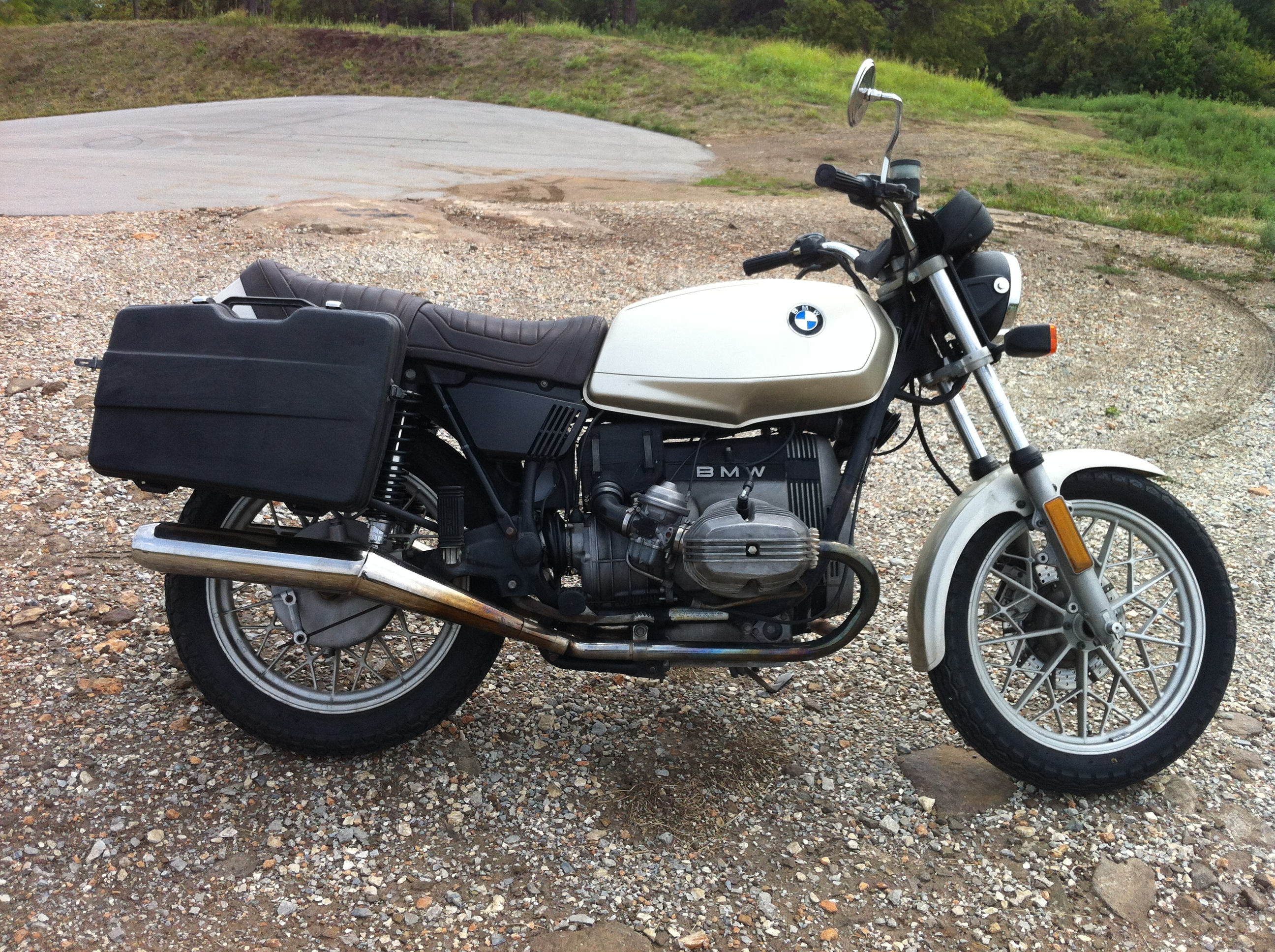 1980 BMW R45 (reduced effect) #5