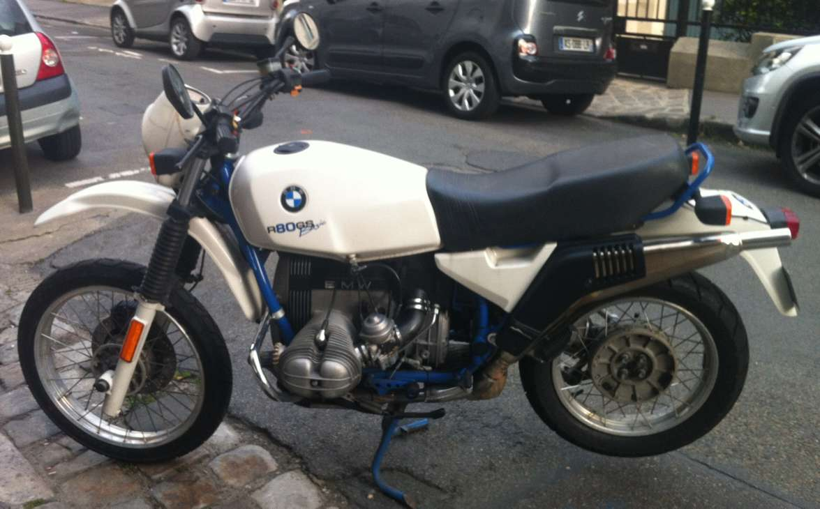 BMW R80GS Basic #3
