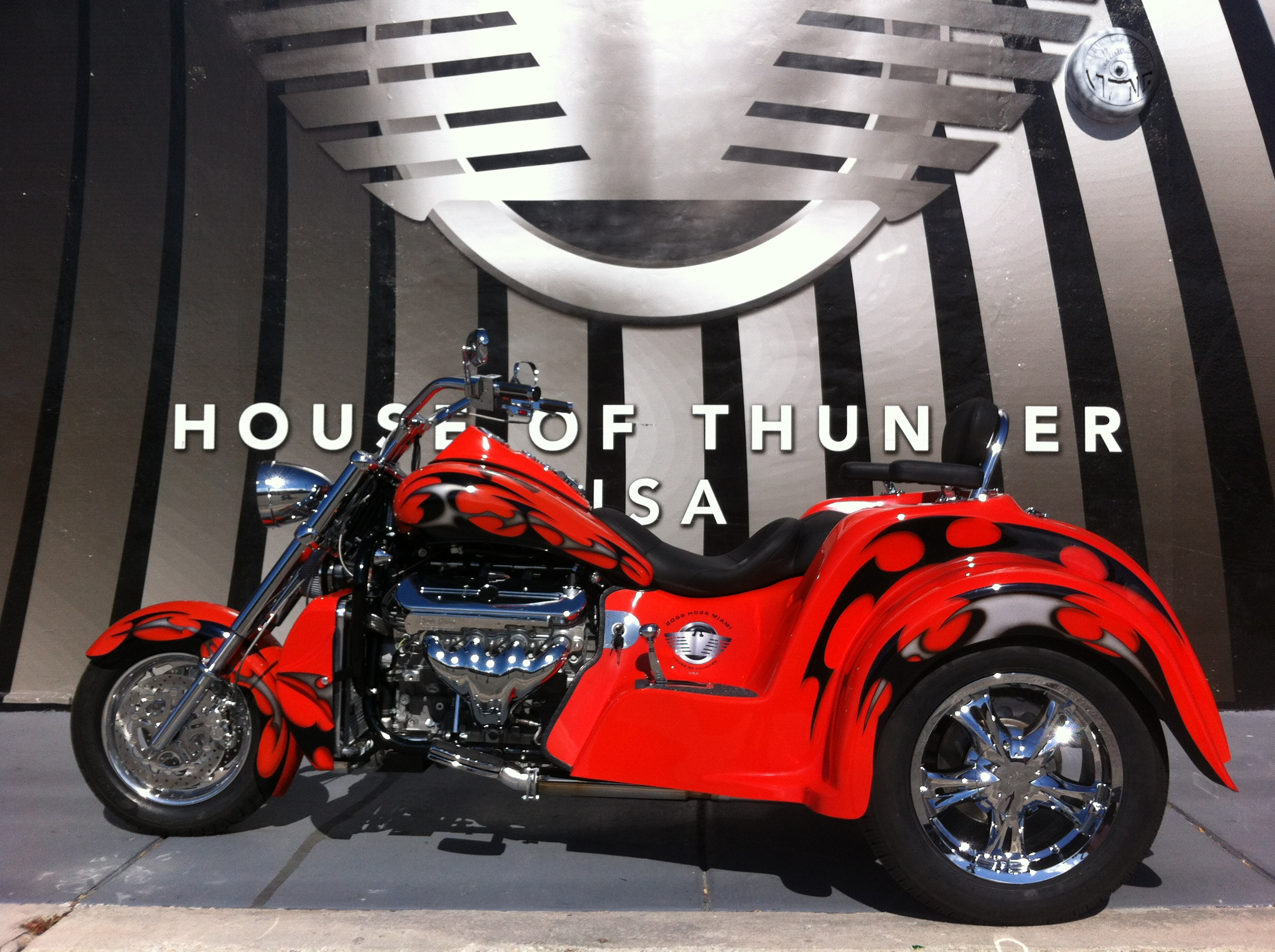 Boss Hoss BHC-9 Coupe 445 Trike #8