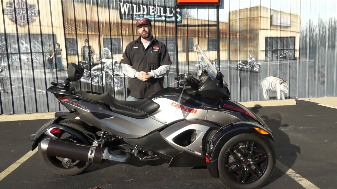 2011 Can-Am Spyder Roadster RS #2