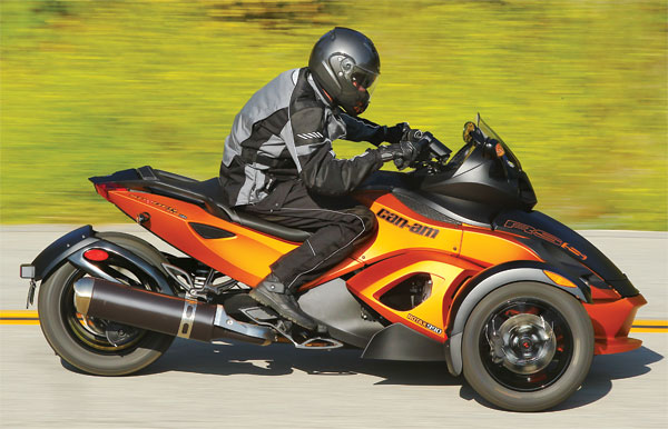 2011 Can-Am Spyder Roadster RS #1