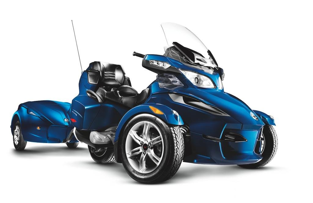 2011 Can-Am Spyder Roadster RT Limited #7