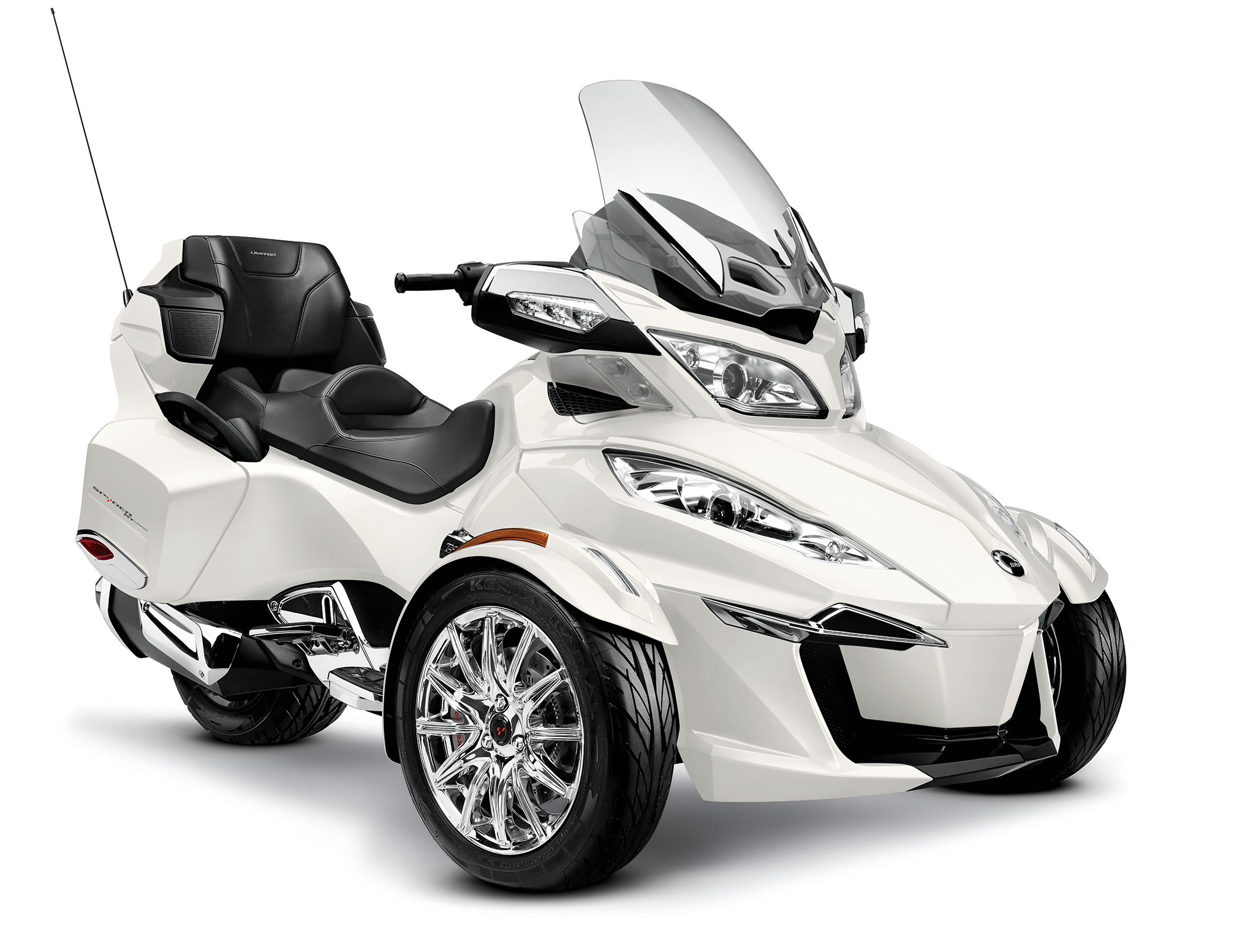 2011 Can-Am Spyder Roadster RT Limited #3