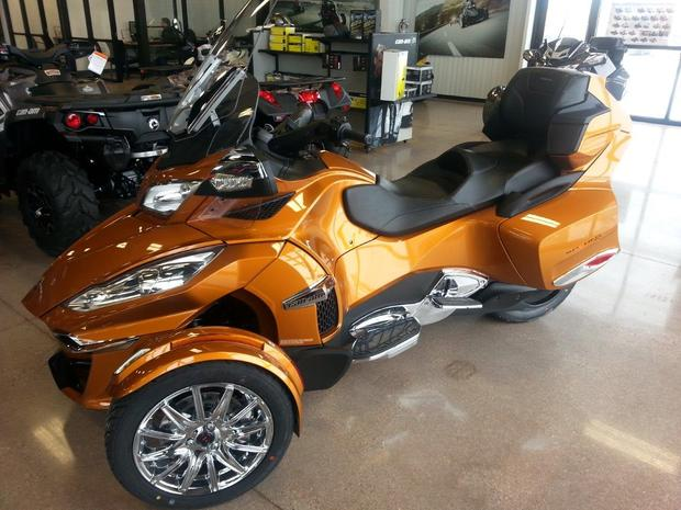 Can-Am Spyder Roadster RT Limited #7