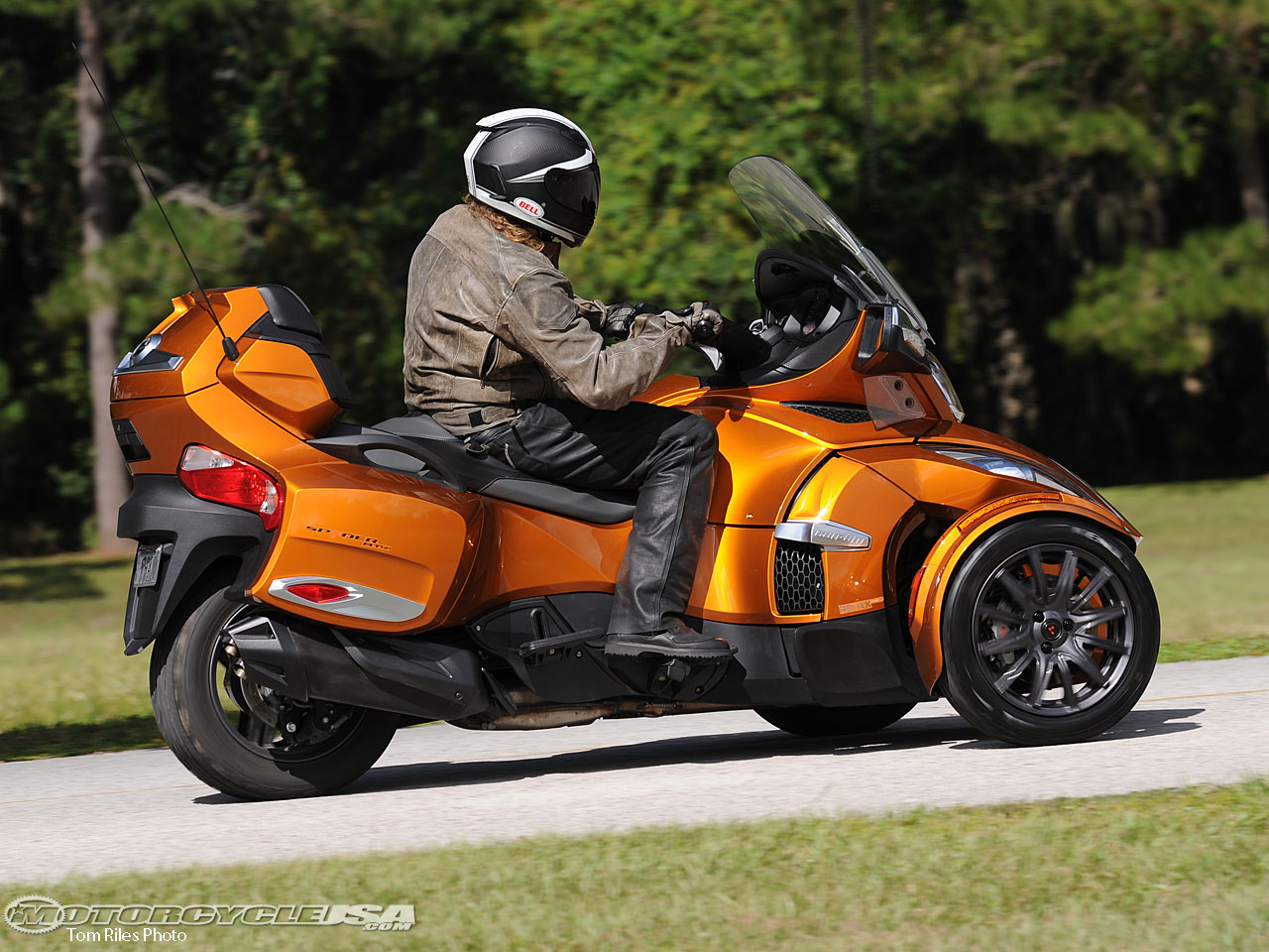 Can-Am Spyder Roadster RT #1