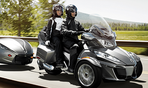 Can-Am Spyder Roadster RT #4