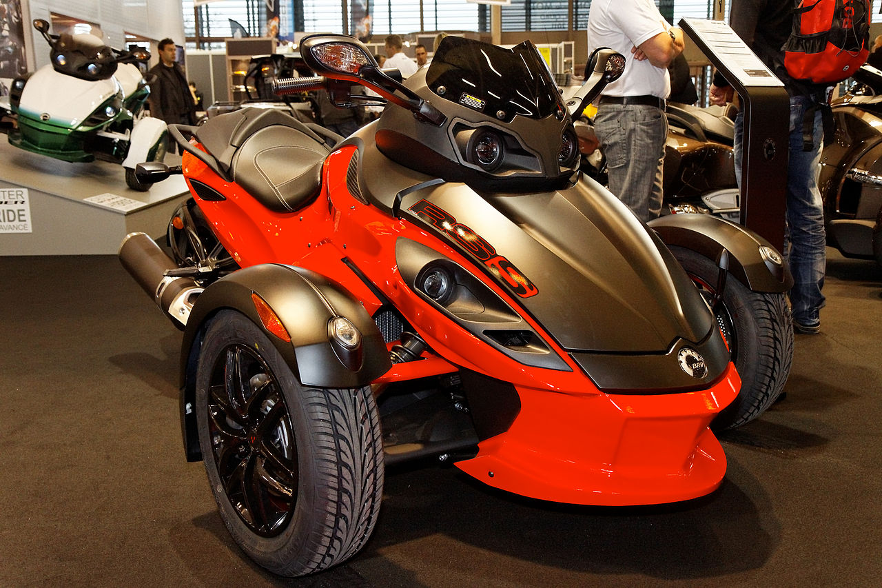 Can-Am Spyder RS-S #5