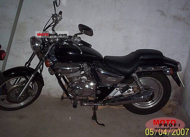 2001 Daelim VT 125 Evolution #5