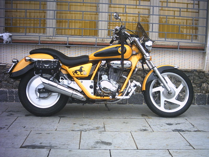 2001 Daelim VT 125 Evolution #9