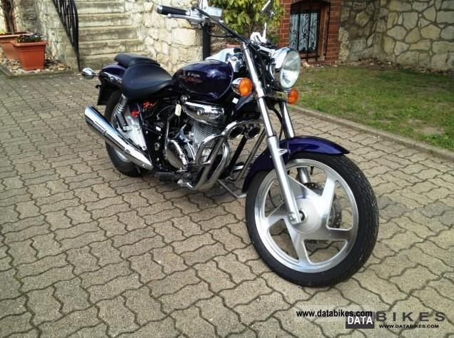 2001 Daelim VT 125 Evolution #8