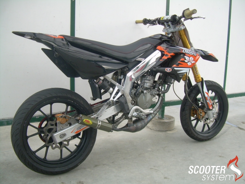 2008 Derbi DRD Racing 50 SM Limited Edition #7