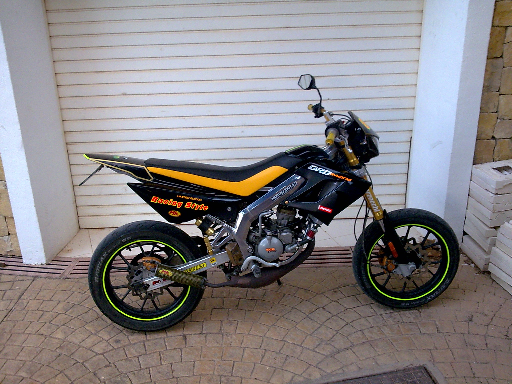 2008 Derbi DRD Racing 50 SM Limited Edition #6