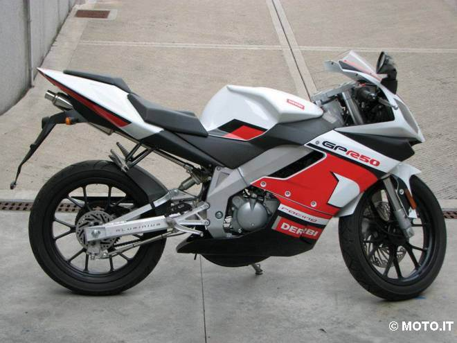 2008 Derbi GPR 50 Racing #1
