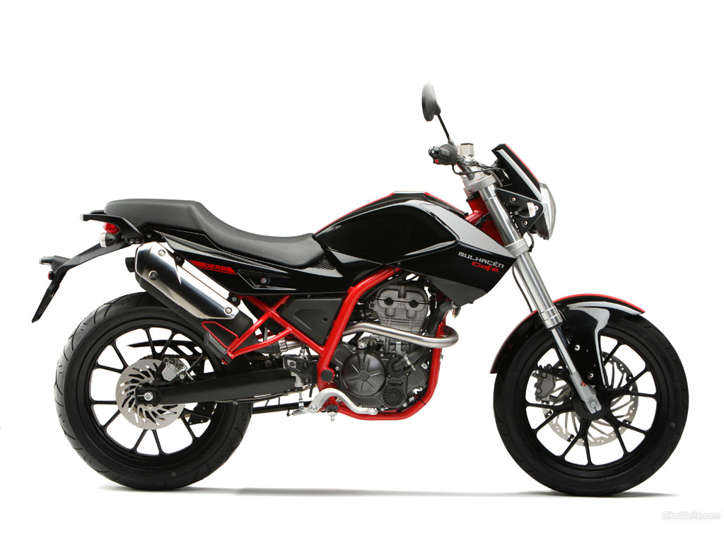 2008 Derbi Mulhacen Cafe 125 #10