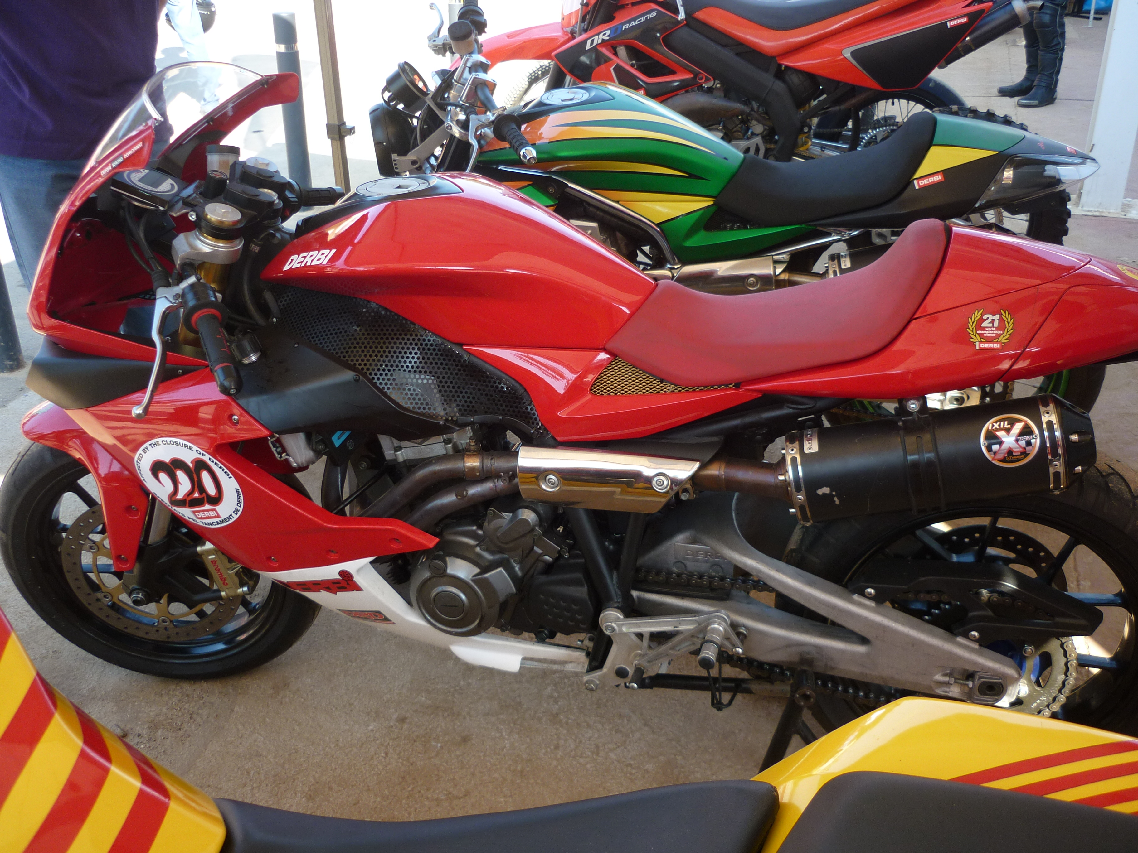 2009 Derbi Mulhacen Cafe 125 #6