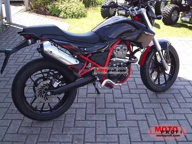 2009 Derbi Mulhacen Cafe 125 #1