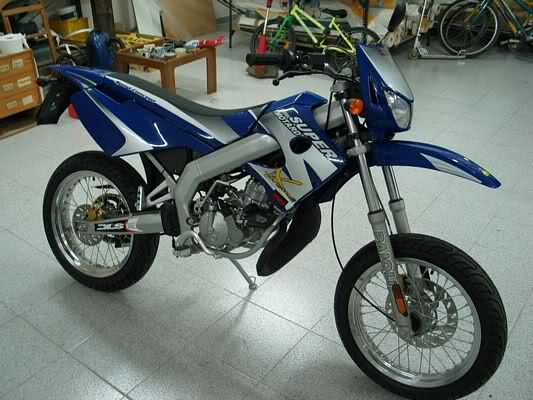 2003 Derbi Senda Supermotard #9