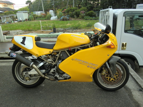 1995 Ducati 900 Superlight #7