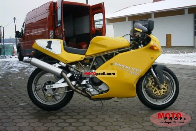 1995 Ducati 900 Superlight #3