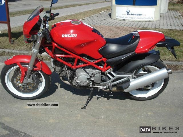 Ducati Monster 1000 S i e  Photos, Informations, Articles - Bikes